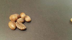 difetti chicchi di caffè a basso costo - inaciditi